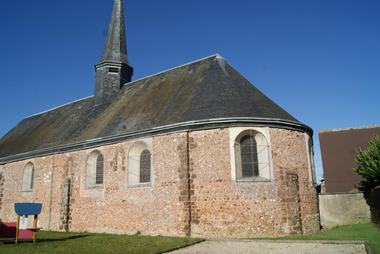 Arrière de l'église