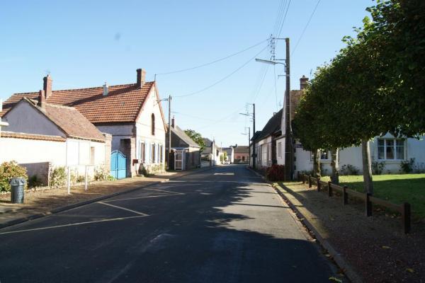 Rue de la République et place de Verdun